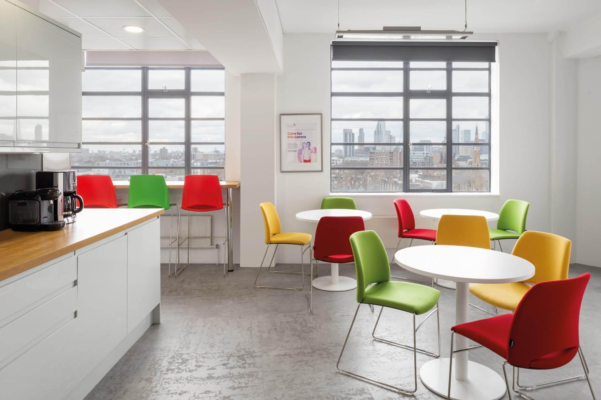 Servelec---London---Dale-Office-Interiors---Kitchen-2019
