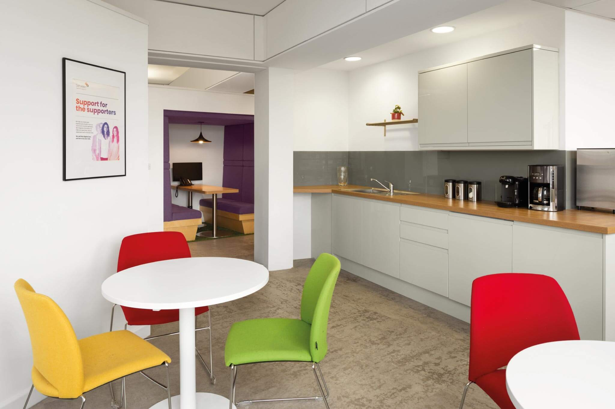 Servelec---London---Dale-Office-Interiors---Kitchen-second-view---2019