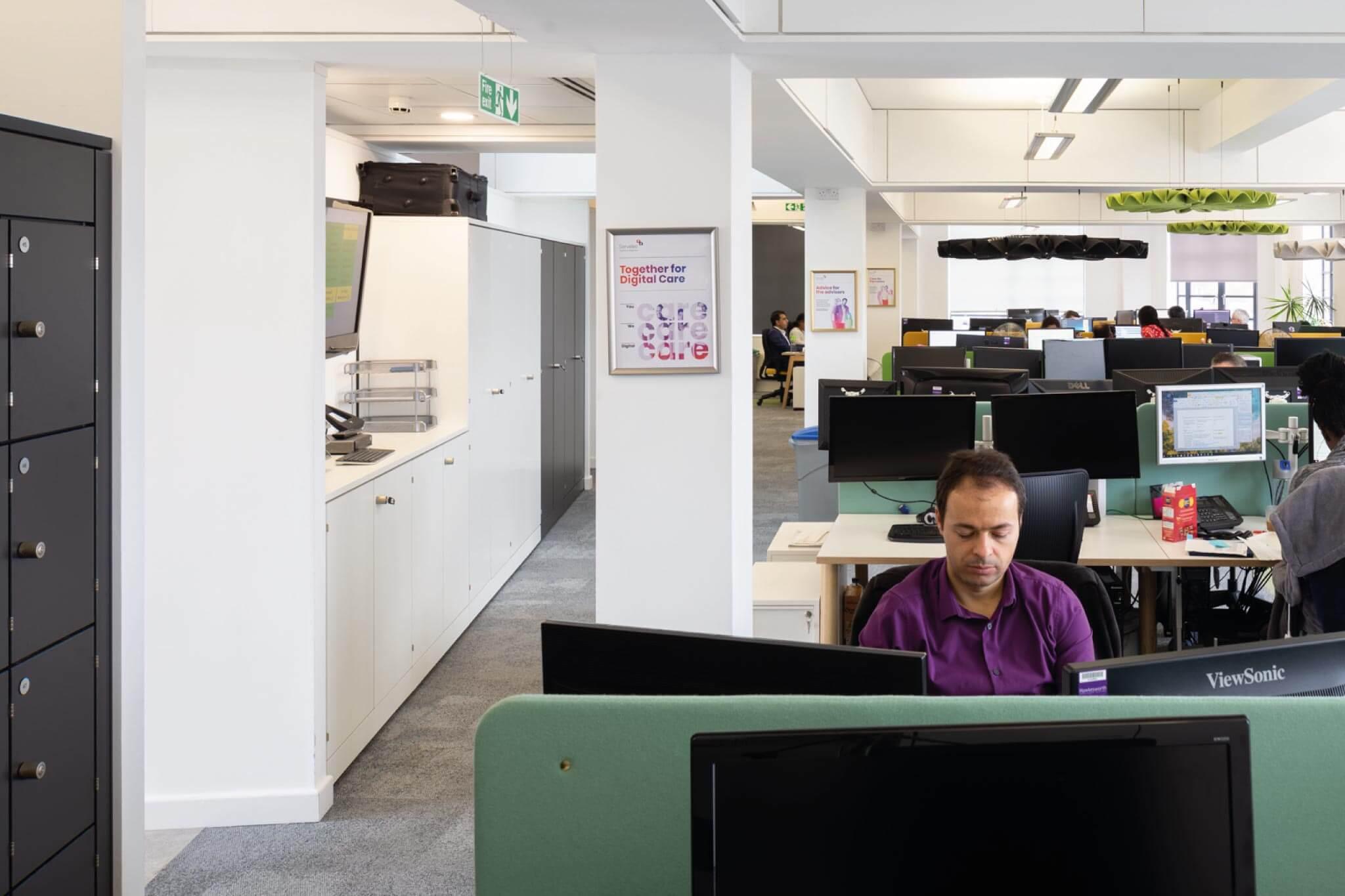 Servelec---London---Dale-Office-Interiors---Office---View-1-2019