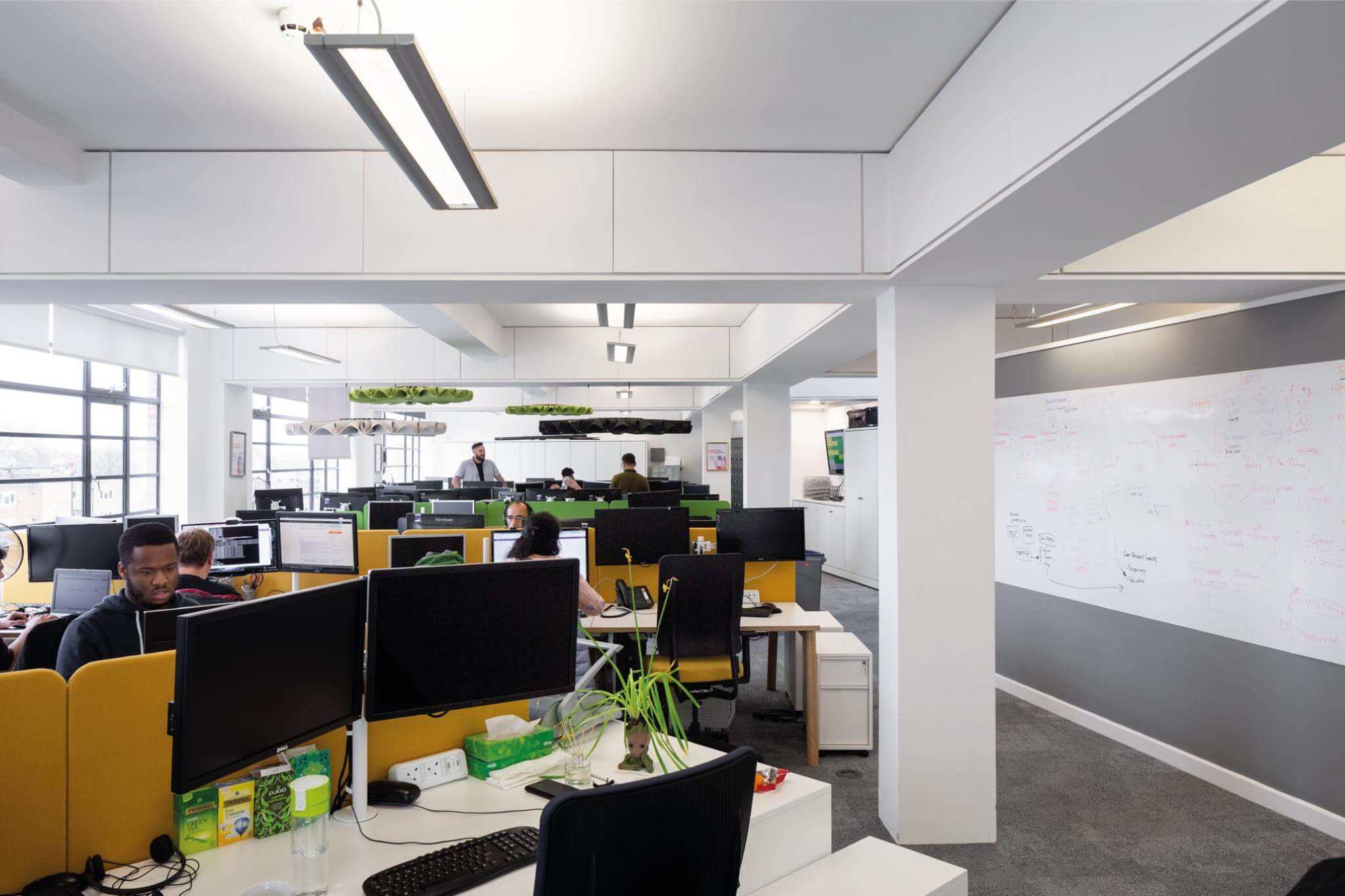 Servelec - London - Dale Office Interiors - White board system - 2019