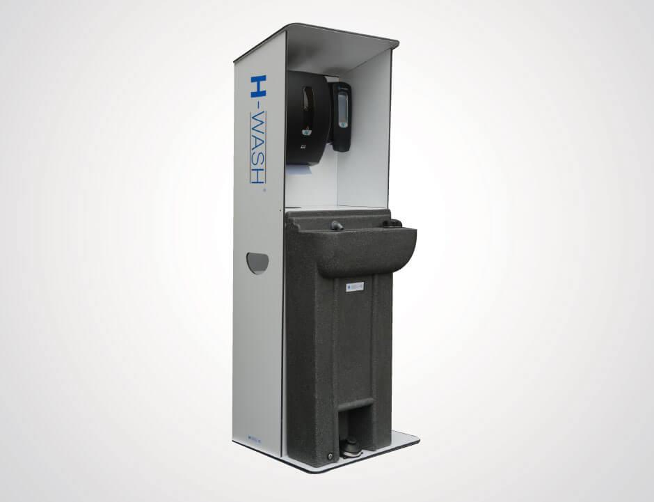 Portable hand washing facilities