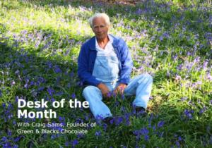 Craig Sams - Desk of the month
